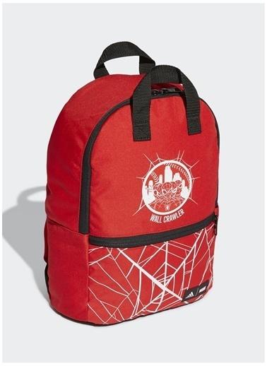 adidas Adidas Erkek Çocuk Kırmızı-Beyaz Sırt Çantası Kırmızı